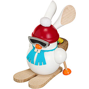 Smokers Hobbies Smoker - Ski-Bunny - Ball Figure - 12 cm / 5 inch