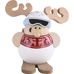 Smokers Hobbies Smoker - Ski-Moose - Ball Figure - 11 cm / 4 inch