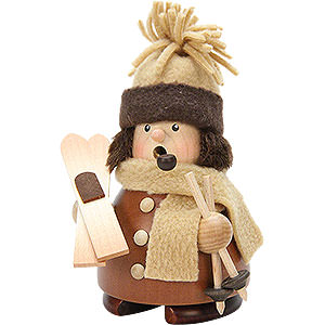 Smokers Hobbies Smoker - Skier Natural Wood - 14,5 cm / 6 inch