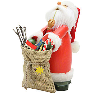 Smokers Santa Claus Smoker - Sleepy Head Santa Claus - 18cm / 7.1 inch