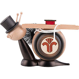 Smokers Animals Smoker - Snail Sunny Chimney Sweep Snail - 16 cm / 6.3 inch