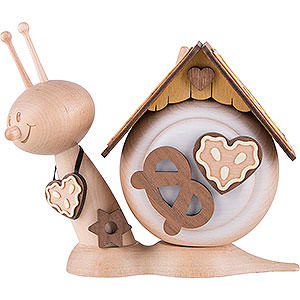 Smokers Animals Smoker - Snail Sunny Gingerbread Snail - 16 cm / 6.3 inch