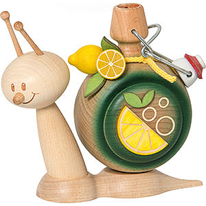 Smokers Hobbies Smoker - Snail Sunny Lemonade Snail - 16 cm / 6.3 inch