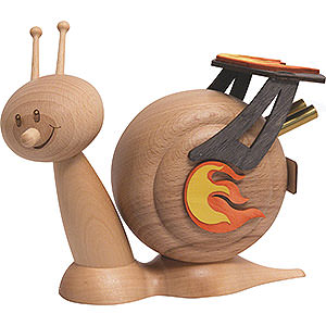 Smokers Professions Smoker - Snail Sunny Racing Snail - 16 cm / 6.3 inch