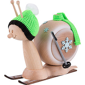 Smokers Animals Smoker - Snail Sunny Ski Snail - 16 cm / 6.3 inch