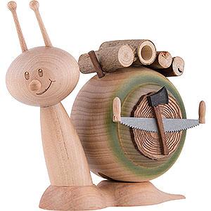 Smokers Animals Smoker - Snail Sunny Wood Snail - 16 cm / 6.3 inch
