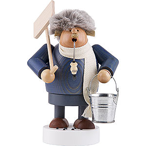 Smokers Professions Smoker - Snow Shoveler - 19 cm / 7 inch
