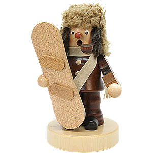 Smokers Hobbies Smoker - Snowboarder Natural Colors - 18,5 cm / 7 inch