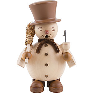 Smokers Snowmen Smoker - Snowman - 14 cm / 6 inch