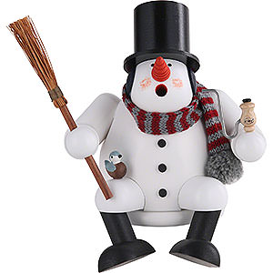 Smokers Snowmen Smoker - Snowman - 17 cm / 7 inch