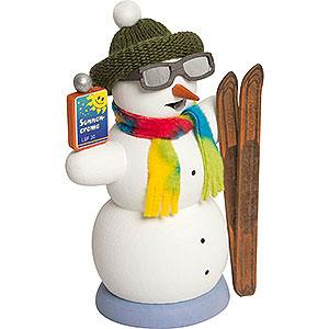 Smokers Snowmen Smoker - Snowman Apres Ski - 13 cm / 5.1 inch
