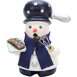 Smokers Professions Smoker - Snowman Baker - 9,5 cm / 3.7 inch
