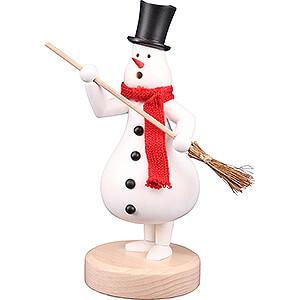 Smokers Snowmen Smoker - Snowman Fridolin - 25 cm / 9.8 inch
