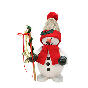 Smokers Snowmen Smoker - Snowman Red - 23 cm / 9 inch