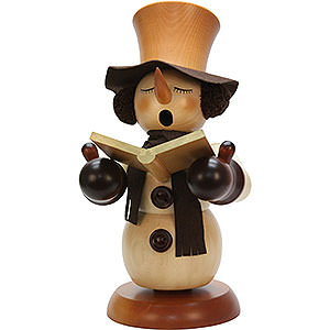 Smokers Snowmen Smoker - Snowman Singer Natural - 60 cm / 24 inch