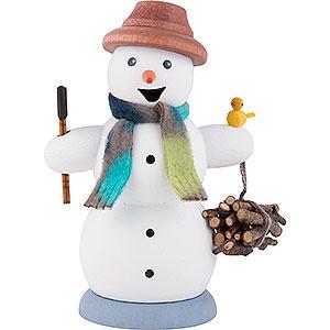 Smokers Snowmen Smoker - Snowman Wood Gatherer - 13 cm / 5.1 inch