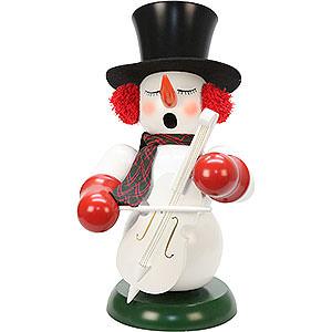 Smokers Snowmen Smoker - Snowman with Bass - 60 cm / 24 inch