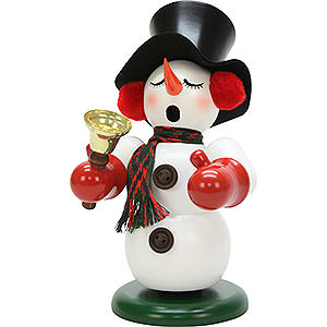 Smokers Snowmen Smoker - Snowman with Bell - 23 cm / 9.1 inch