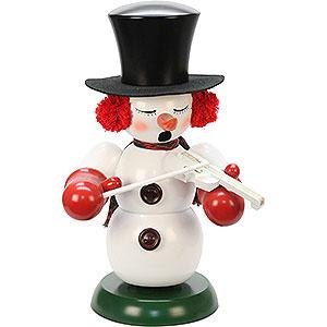 Smokers Snowmen Smoker - Snowman with Violin - 60 cm / 24 inch