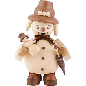 Smokers Snowmen Smoker - Snowwoman - 14 cm / 6 inch