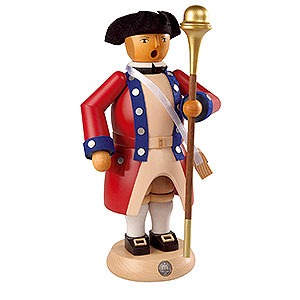 Smokers Professions Smoker - Tambourmajor - Virginia State Garrison Regiment - 24 cm / 9 inch