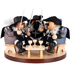 Smokers Misc. Smokers Smoker - Three Musketeers - 22 cm / 8 inch