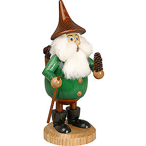 Smokers All Smokers Smoker - Timber-Gnome Coneman Green - Hat Brown - 15 cm / 6 inch