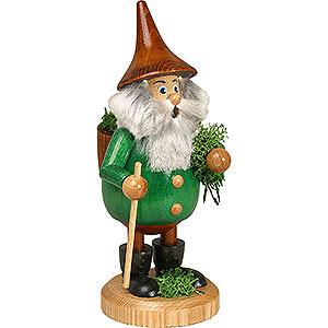 Smokers Misc. Smokers Smoker - Timber-Gnome Mossman Green - Hat Brown - 15 cm / 6 inch