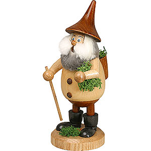 Smokers Misc. Smokers Smoker - Timber-Gnome Mossman Natural Colors - Hat Brown - 15 cm / 6 inch