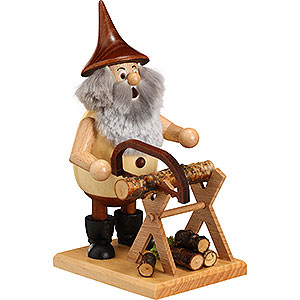 Smokers Hobbies Smoker - Timber-Gnome on a Board - 15 cm / 6 inch