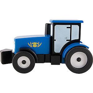 Smokers Smoking Vehicles Smoker Tractor - Blue - 12 cm / 4.7 inch