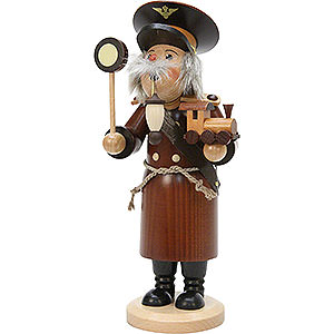 Smokers Professions Smoker - Train Conductor Natural Colors - 29 cm / 11 inch