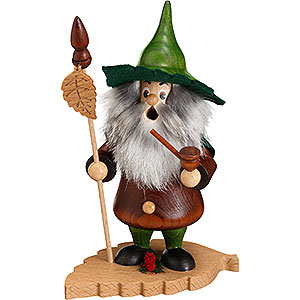 Smokers Misc. Smokers Smoker - Tree Gnome, Beech Leaf - 18 cm / 7 inch
