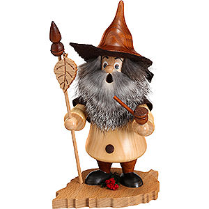Smokers Misc. Smokers Smoker - Tree Gnome, Birch Leaf - 18 cm / 7 inch