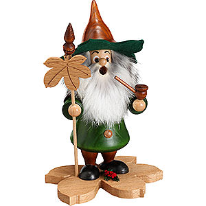 Smokers Misc. Smokers Smoker - Tree Gnome, Chestnut Leaf - 18 cm / 7 inch