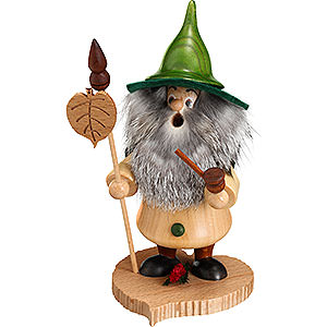 Smokers Misc. Smokers Smoker - Tree Gnome, Linden Leaf - 18 cm / 7 inch