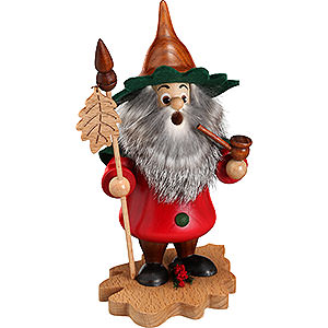 Smokers Misc. Smokers Smoker - Tree Gnome, Oak Leaf - 18 cm / 7 inch