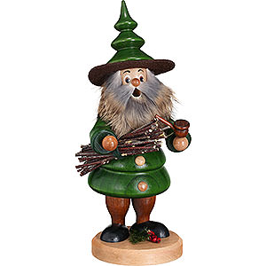 Smokers Hobbies Smoker - Tree Gnome Wood Collector - 21 cm / 8.3 inch