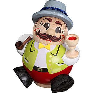 Smokers Professions Smoker - Wine Expert - Ball Figure - 12 cm / 5 inch