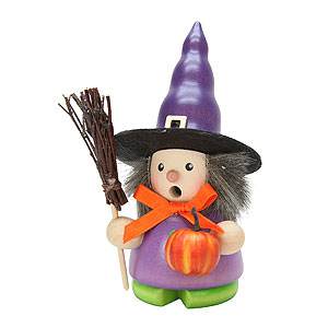 Smokers Misc. Smokers Smoker - Witch - 13 cm / 5 inch
