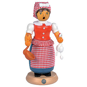 Smokers Famous Persons Smoker - Witwe Bolte - 24 cm / 9 inch