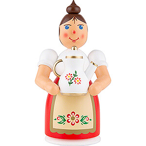 Smokers Misc. Smokers Smoker - Woman with Apron and Pot - 17 cm / 6.7 inch