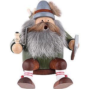 Smokers Professions Smoker - Woodchopper - Shelf Sitter - 16 cm / 6 inch