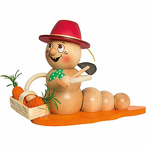 Smokers Professions Smoker - Worm Carrot Rudi - 14 cm / 5.5 inch