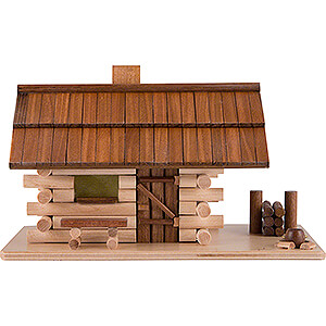 Smokers Misc. Smokers Smoking Hut - Forest Hut with LED - 10 cm / 4 inch