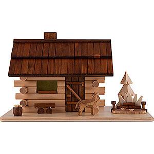 Smokers Misc. Smokers Smoking Hut -  Garden Log Cabin - 10,5 cm / 4.1 inch