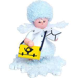 Small Figures & Ornaments Kuhnert Snowflakes Snowflake Mail Carrier - 5 cm / 2 inch