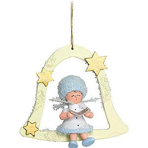 Tree ornaments Kuhnert Snowflakes Snowflake Singer - 7x7x4 cm / 2.8x2.8x1.5 inch
