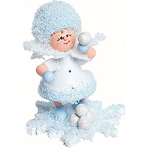 Small Figures & Ornaments Kuhnert Snowflakes Snowflake Snowball Fight - 5 cm / 2 inch