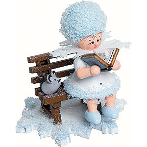 Small Figures & Ornaments Kuhnert Snowflakes Snowflake Story Teller - 5 cm / 2 inch